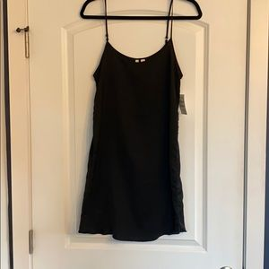 Brand new black slip dress